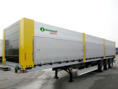 Wecon универсальный кузов-контейнер (зерновоз) на контейнеровоз